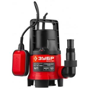 Насос ЗУБР погружной дренажный для грязной воды НПГ-М1-400