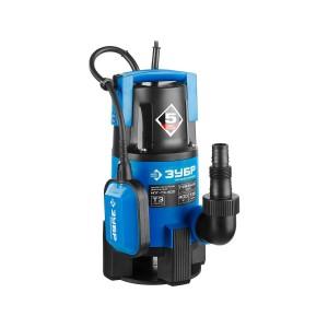 Насос ЗУБР погружной дренажный для грязной воды НПГ-Т3-400