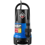 Насос ЗУБР погружной дренажный для грязной воды НПГ-Т7-400