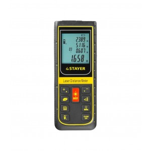 Дальномер лазерный STAYER PRO-Control 100м, 34959