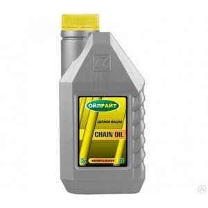 Масло для смазки цепи OILRIGHT CHAIN OIL, 1л
