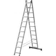 Лестница-трансформер СИБИН двухсекционная 11 ступеней