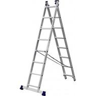 Лестница-трансформер СИБИН двухсекционная 8 ступеней