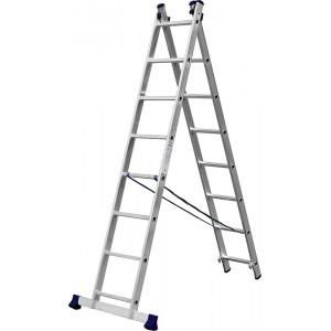 Лестница-трансформер СИБИН двухсекционная 8ступеней