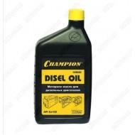 Масло 4-х тактное дизельное 10W-40 CHAMPION 1,0л